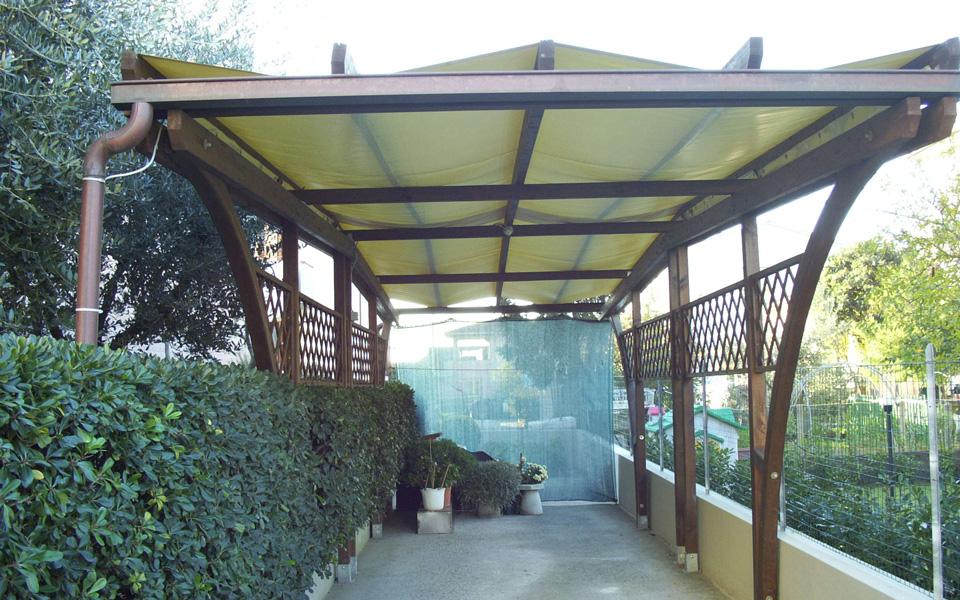 Arredo system gazebi e tettoie for Arredo system