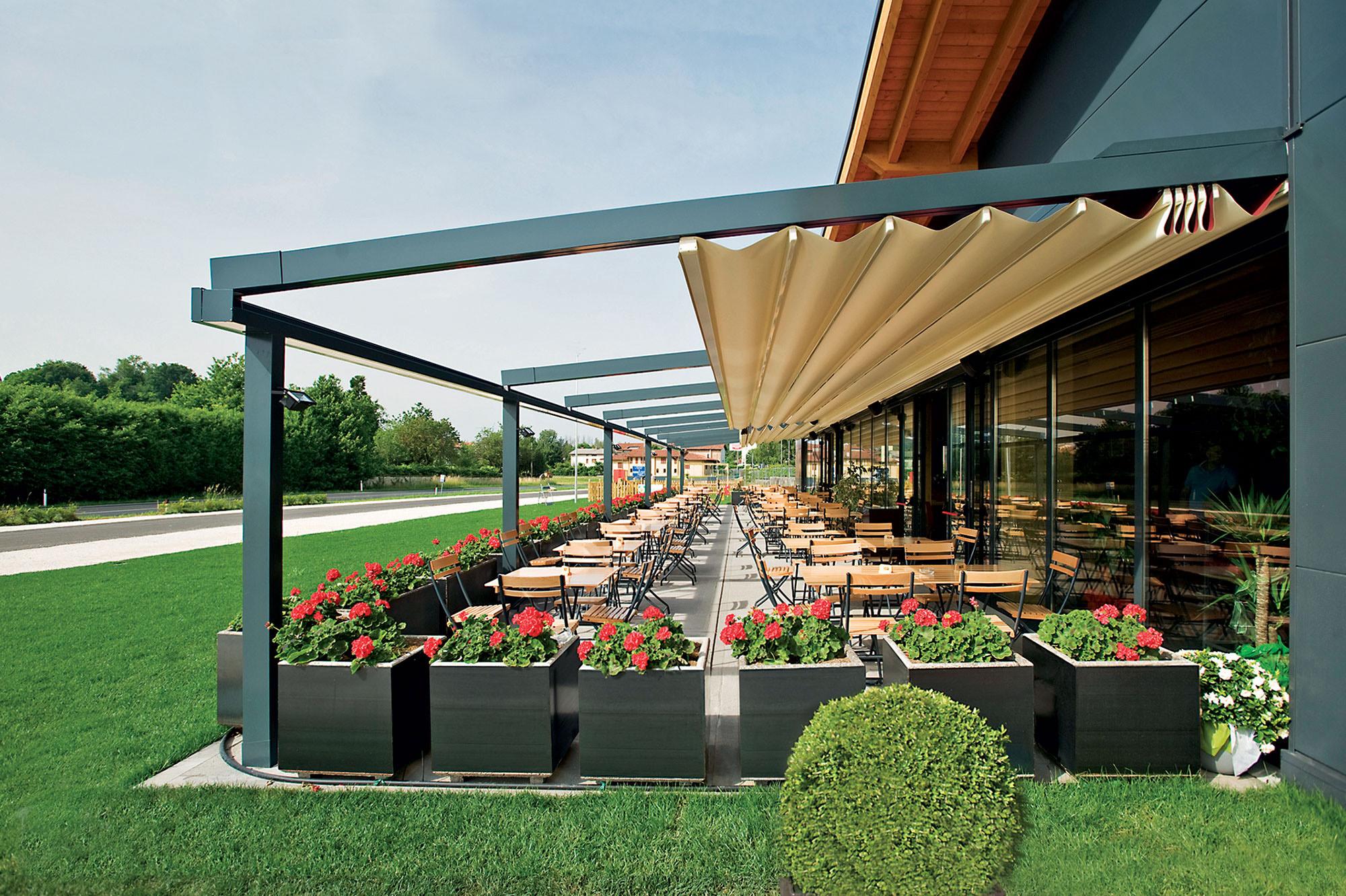Arredo system pergole e verande - Gazebi in alluminio per esterni ...