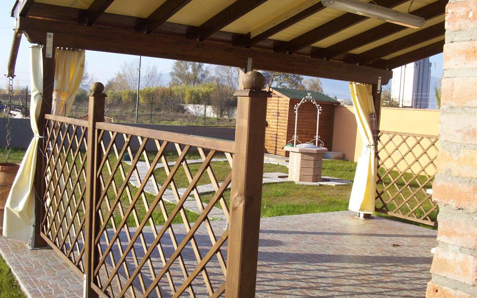 Arredo system pergole e verande for Arredo terrazze e verande