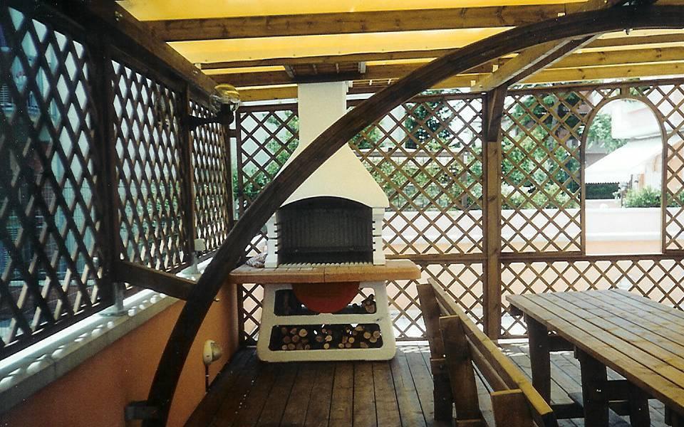 Arredo system pergole e verande for Arredo system